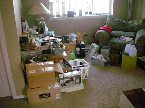 the loft - sorting area