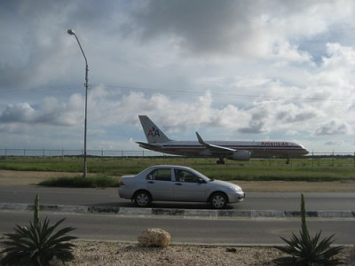 American Airlines in Aruba