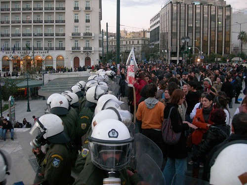 17 Demonstration in Athens