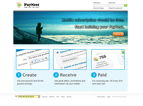 Paynest - Home Page