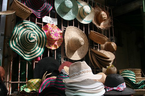 "Pahiyas  Festival ""Hats for Sale"""