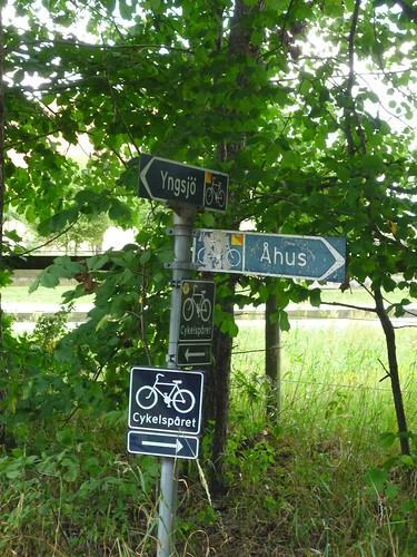 Bikes lanes in Skåne