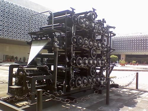 Antique Printing Press