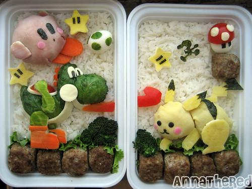 Bento of Super Smash Bros