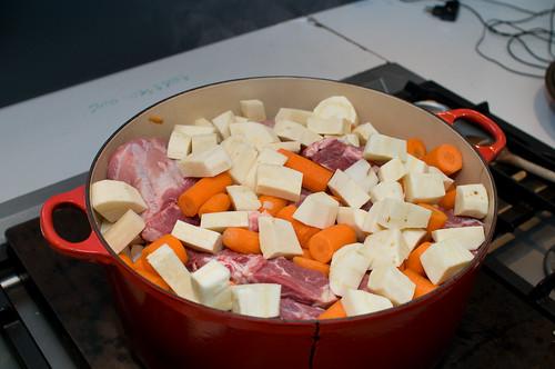 Hutsepot pastinaak & wortelen