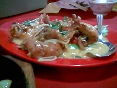 Sibu's Ruby's butter scotch prawns again