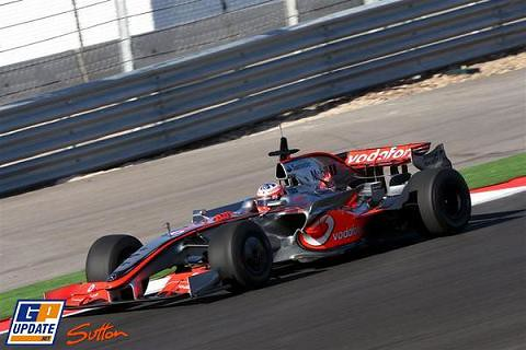 paffet algarve test mclaren by you.