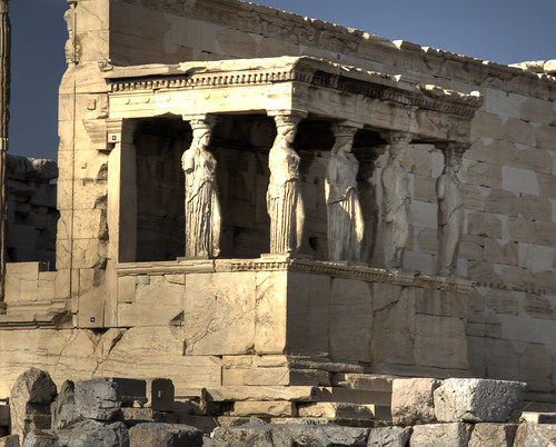 caryatides by toomanytribbles.