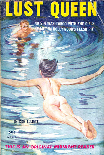 Lust Queen (Midnight Reader MR 401) 1961 AUTHOR: Don Elliott (aka Robert Silverberg; Loren Beauchamp) ARTIST: (unknown) by Hang Fire Books.