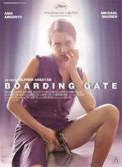 Boarding gate cartel película