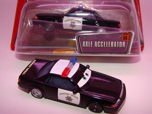 T case Axel Accelerator