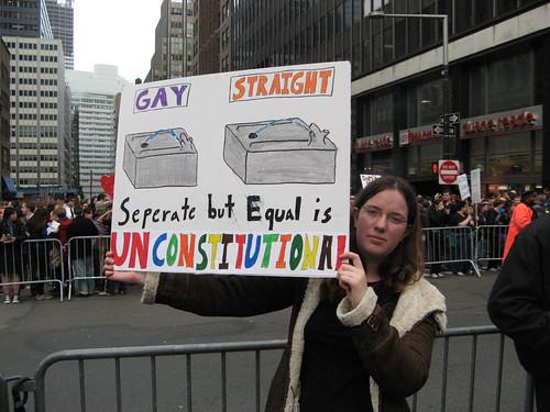 Protest Against Prop 8