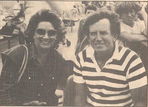 Lee and Senator Gary Hart