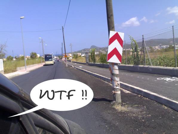usabilidad en las carreteras en ibiza