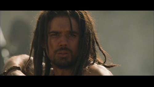 Steven Strait Shirtless in 10000 BC