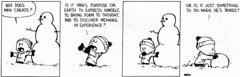 Existentialism in Calvin and Hobbes