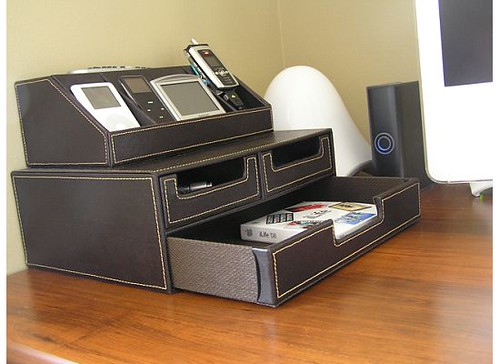 Organizer/charging station by you.