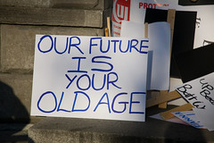 OUR FUTURE IS YOUR OLD AGE