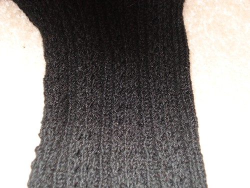 Hemp Sock Pattern Close Up