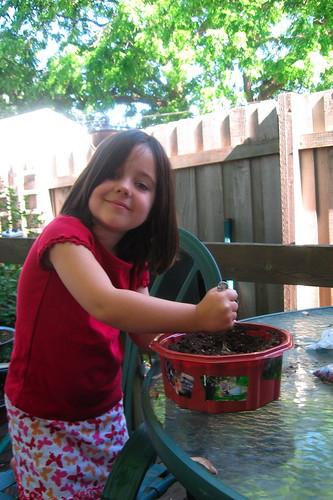 stirring the fairy dirt