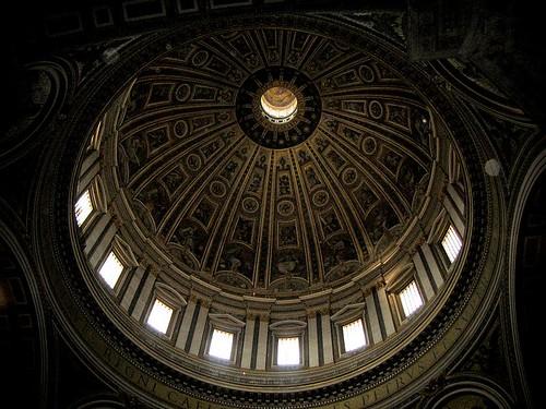 성 베드로 성당의 둥근 천장