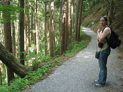 24 - On the path to the Snow Monkeys - 20080618