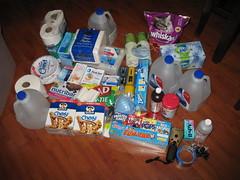 Emergency preparedness kit kick off
