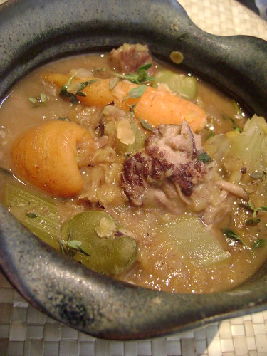 Lamb , Lentil and  Vegetable Stew