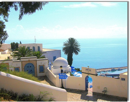 Cafe de Delices, Sidi Bou Said, Tunisia