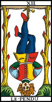 Tarot 12 Le Pendu by Jorge Rangel