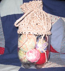 Recycled Yarn Caddy