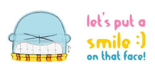 Let's put a smile on that face - por mini-mis mais expressivos