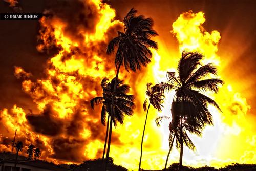 Fire in the hole | Digital Orange Filter
