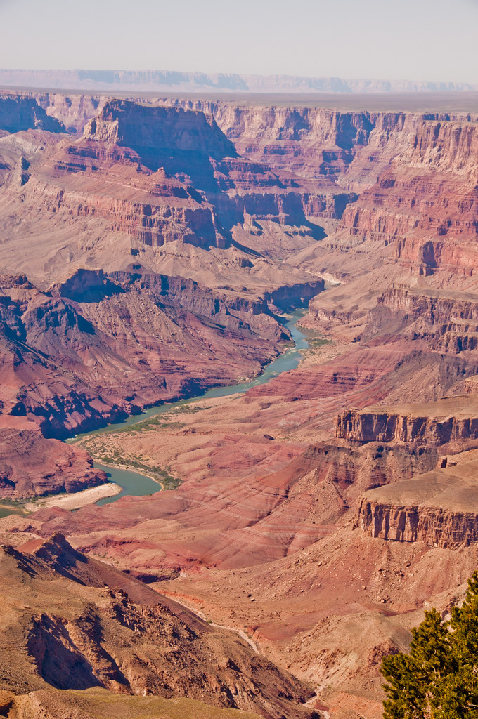 The Grand Canyon at the eastern end of the park