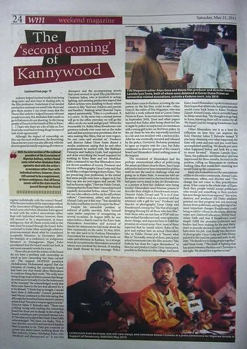 The 'second coming' of Kannywood (4/6)