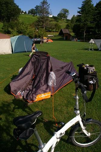 我的帳篷!!!!!