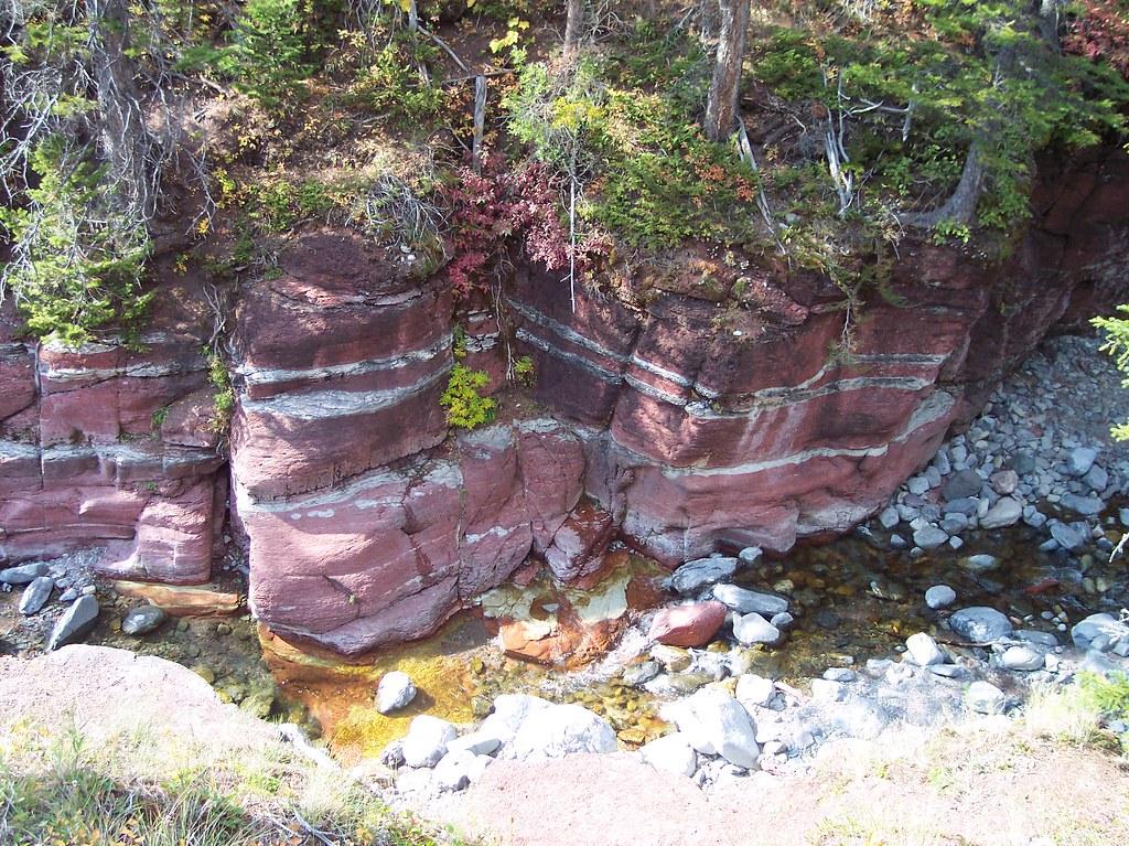 Red Rock Canyon, Waterton National Park, Alberta, Canada