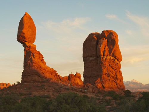 Red Rock at Sunrise