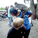 Scott with monkey on head by sharepointjoel