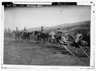 On the Trail - Buffalo hunt  (LOC)