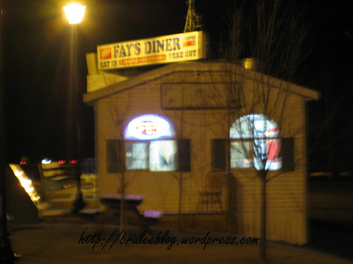 Fays Diner, exterior