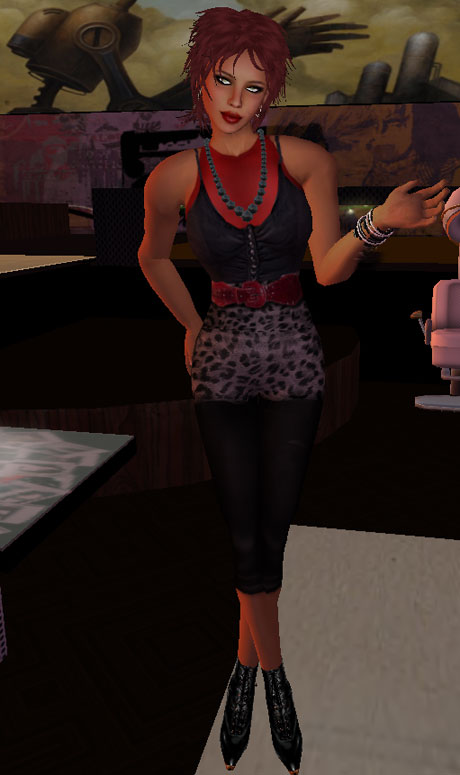 Dress Me Up Challenge 2 80s Rocker Chick The Fashionable Heart