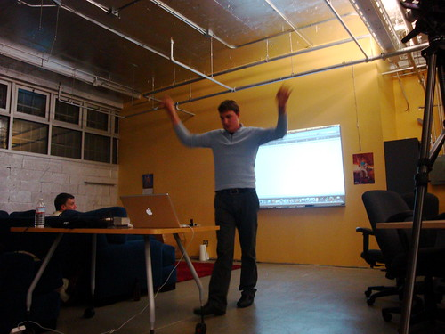 Joseph Smarr at Open Stack Meetup