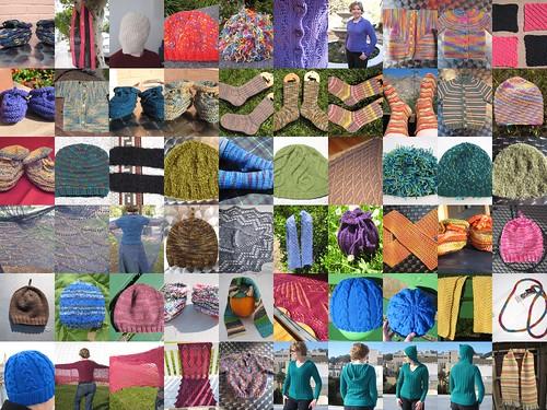 2008_Knitting_Collage