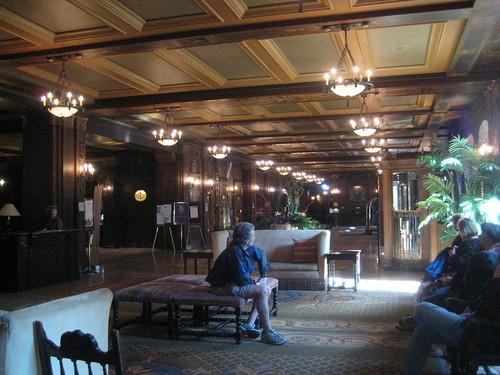 Inside the Château Frontenac, Québec City