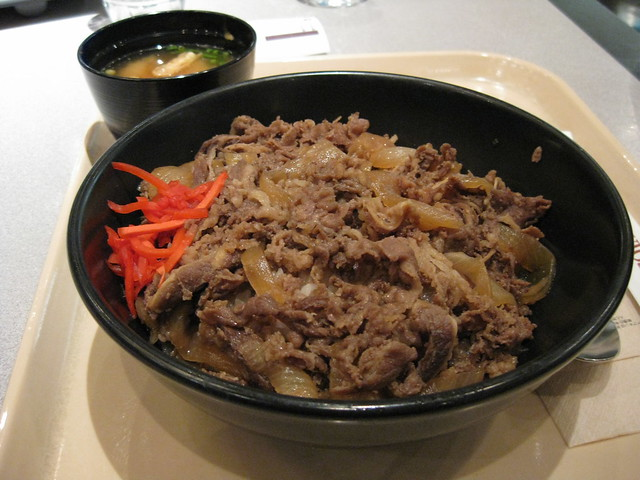 Finally, a beef bowl for me