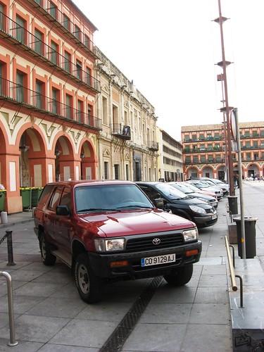 Plaza Corredera Cordoba España.