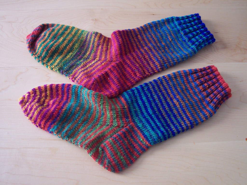 Noro Striped Socks
