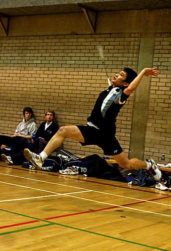 Men's Badminton vs. Durham, 26.11, Alexandru Hristea, (8)