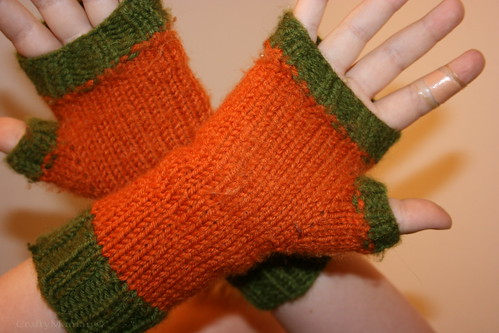 Palm-view of Mitts
